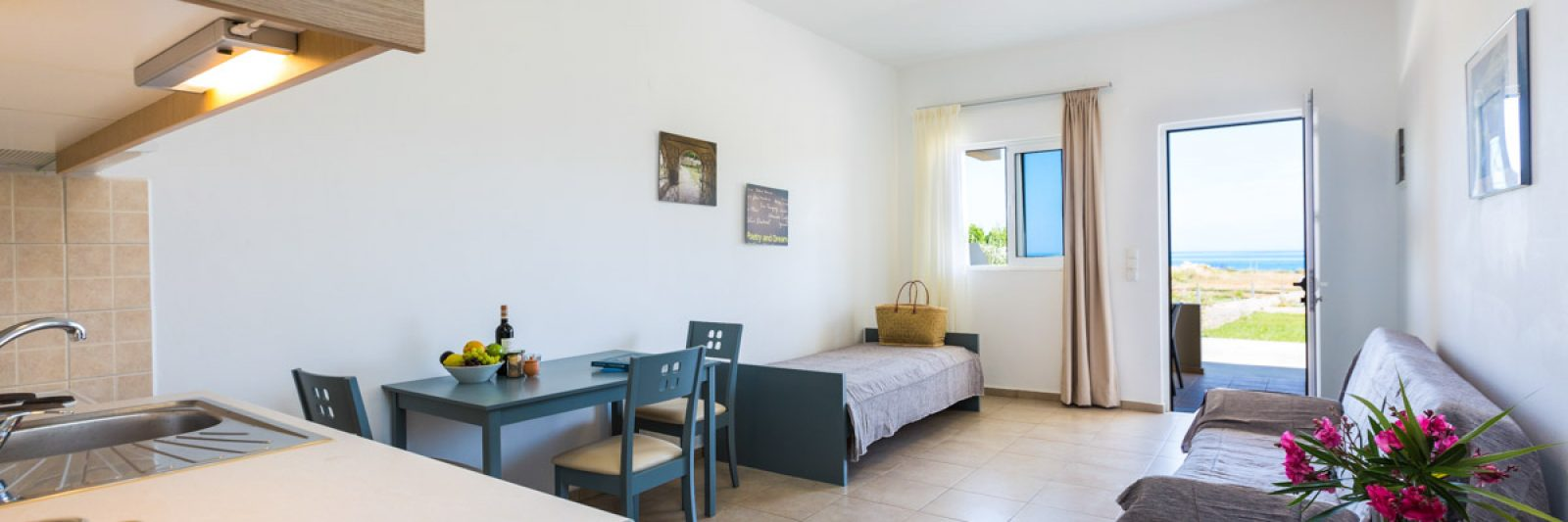 One Bedroom Apartments Rethymno