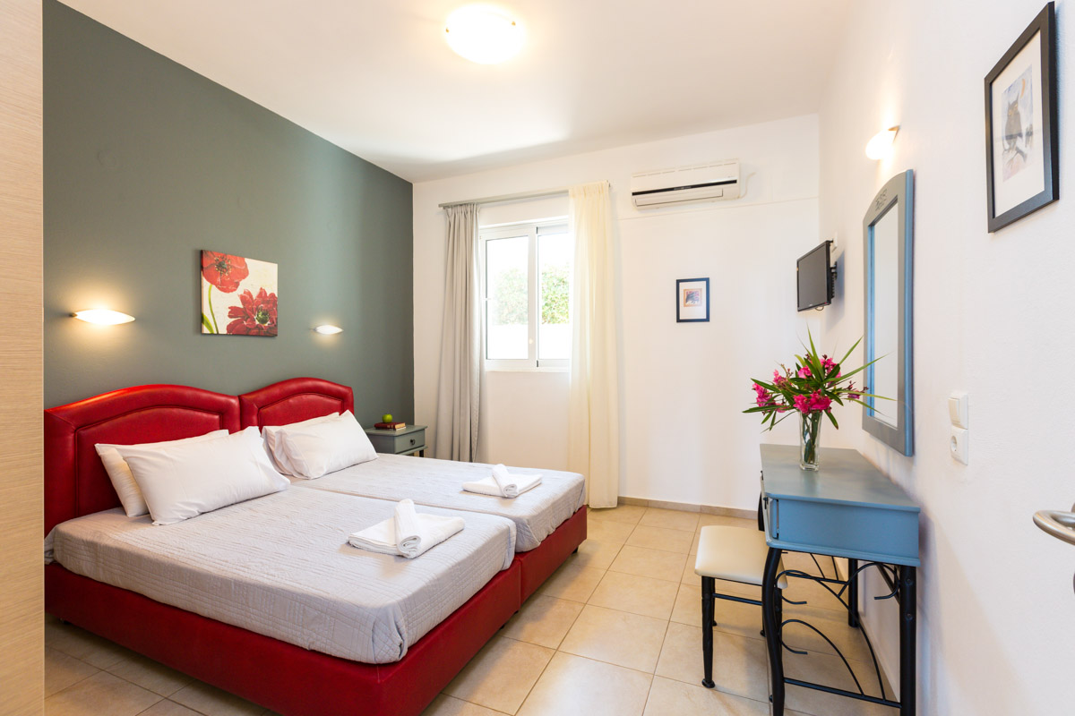 one bedroom apartments are on the ground floor